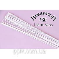 Проволока белая (Hamilworth) № 30