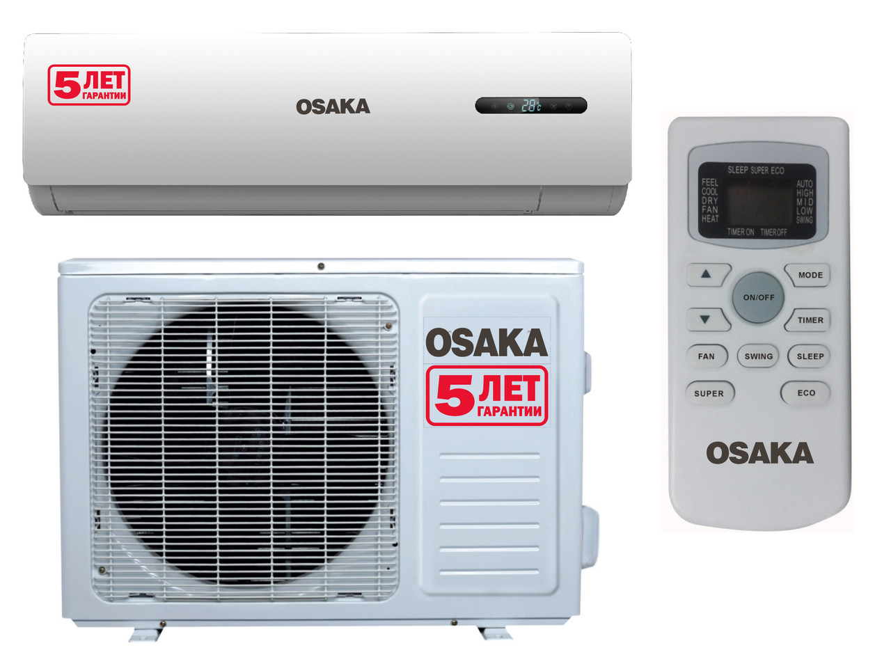 Кондиционер Osaka до 35 кв.м ST-12HН