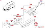 Молдинг крила заднього правий накладка кіа Соренто 3, KIA Sorento 2015-18 UM, 87742c5000, фото 5