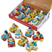 Набор игрушечных машинок Huile Toys Рабочая машинка (356C)