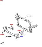 Сигнал звуковой передний левый высокого тона, KIA Sorento 2015-18 UM, 96620c5000, фото 3
