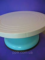 Стойка для торта вращающаяся пластик 12,5 см