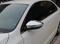 Накладки на зеркала для Volkswagen Jetta, Фольксваген Джетта 2011+