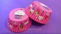 Тарталетки (капсулы) бумажные для кексов, капкейков Кексики (1000 шт)