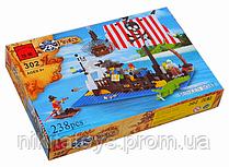 """Конструктор BRICK """"Пираты"""" 302"""