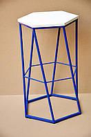 Барный стул металлический в стиле лофт, фото 1