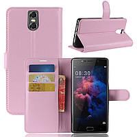 Чехол-книжка Litchie Wallet для Doogee BL7000 Светло-розовый