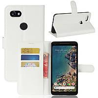Чехол-книжка Litchie Wallet для Google Pixel 2 XL Белый