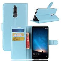 Чехол-книжка Litchie Wallet для Huawei Mate 10 Lite Голубой