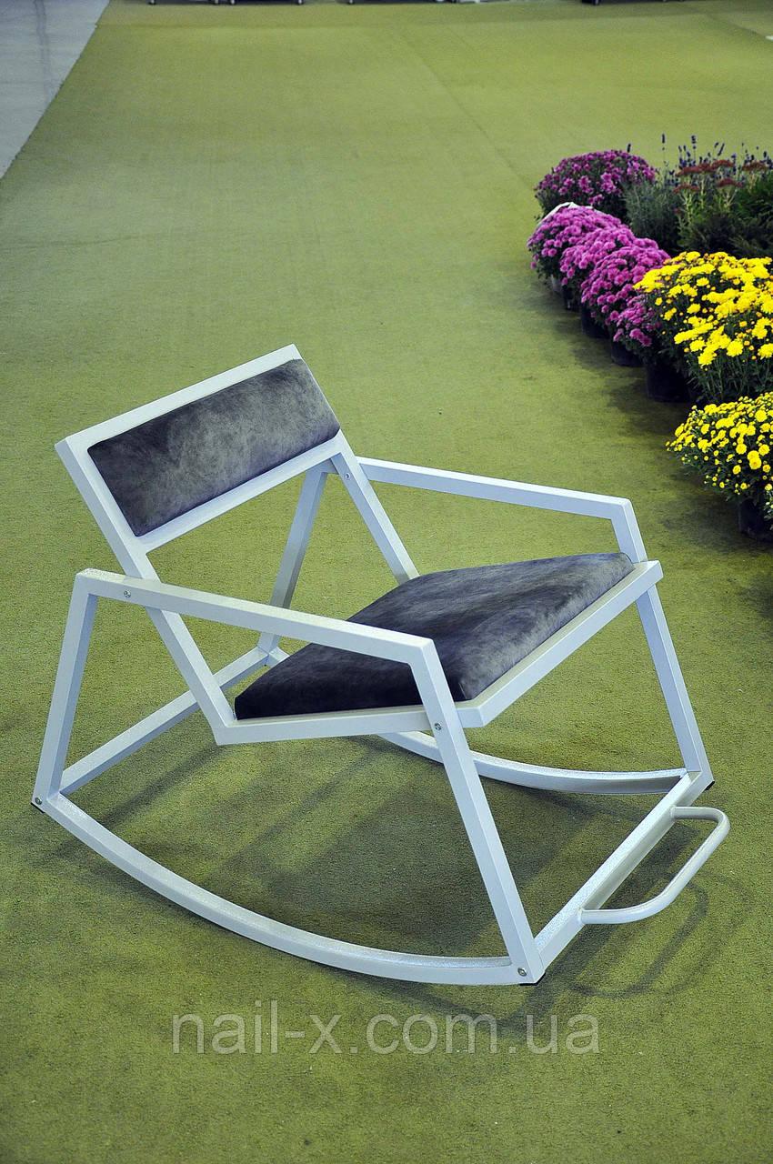Кресло - качалка в стиле Лофт