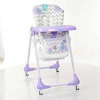Стульчик для кормления BAMBI M 3233 Elephant Lavender Фиолетовый