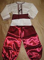 Украинский костюм для мальчика 28-38 размер