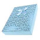 Подарочная коробочка под набор Сердечки с бантом  16,5х12,5х3 см, микс цветов, фото 2