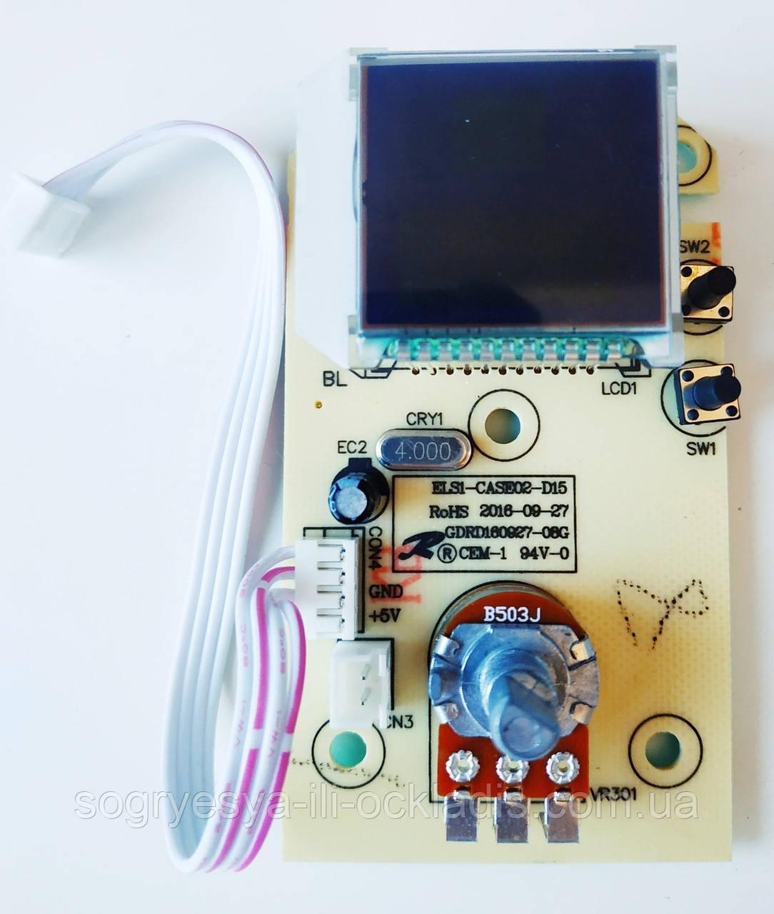 Панель управления дисплея на бойлер ZANUSSI SPLENDORE XP PCB ZWH/S 7.03.05.00044  код товара: 7098