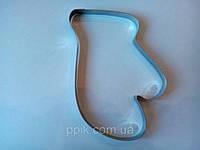 Форма металл для пряников рукавичка, фото 1