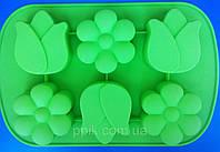 Форма силіконова Квіткове асорті, фото 1