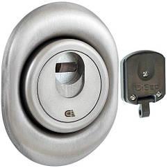 Броненакладка магнитная DISEC 3G2M цилиндровая Нержавеющая сталь