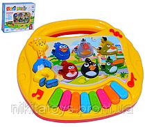 Орган CY-6049B Angry Birds (оригинальные звуки  с игры  Angry Birds светится на батарейках)