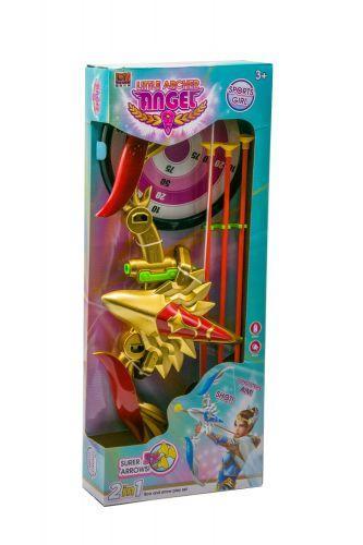"""Лук музыкальный """"Little Archer Angel"""" (красный) 1366-1A"""