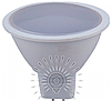 Светодиодная лампа MR16 3Вт 4500K LM739 матовое стекло