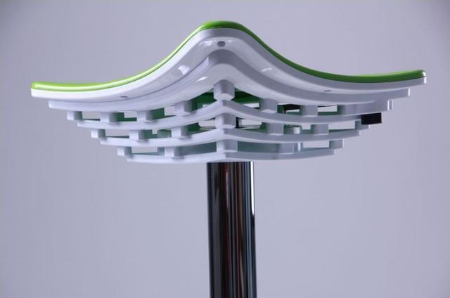 Стул барный хокер Kyoto Зеленый (фото 7)