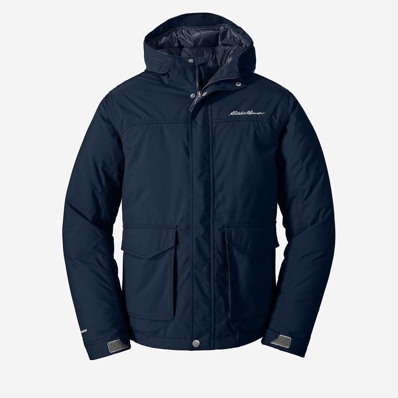 Куртка Eddie Bauer Mens Superior Down LONG INDIGO