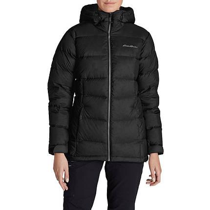 Женский пуховик Eddie Bauer Womens Downlight Alpine Jacket BLACK, фото 2