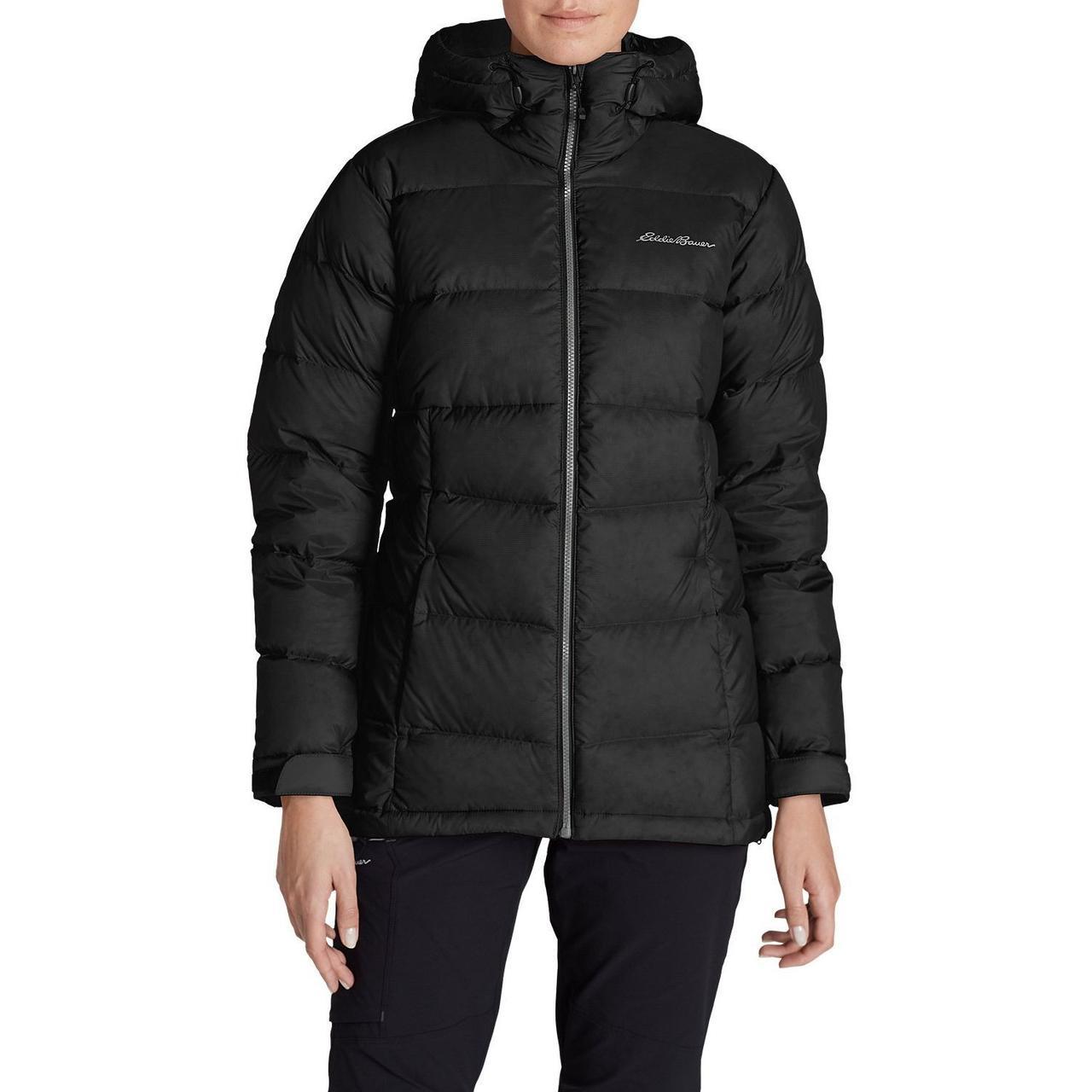 Женский пуховик Eddie Bauer Womens Downlight Alpine Jacket BLACK