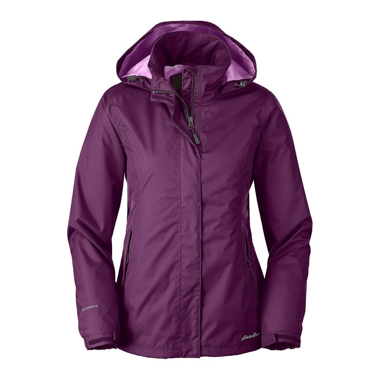 Мембранная куртка женская Eddie Bauer Womens Rainfoil Jacket AMETHYST