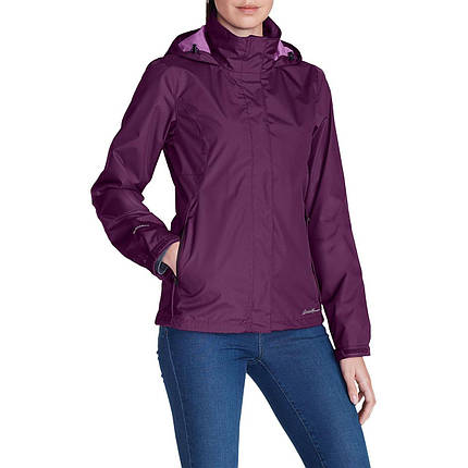Мембранная куртка женская Eddie Bauer Womens Rainfoil Jacket AMETHYST, фото 2