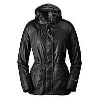 Женский плащ Eddie Bauer Womens Somerland Convertible Trench Coat BLACK