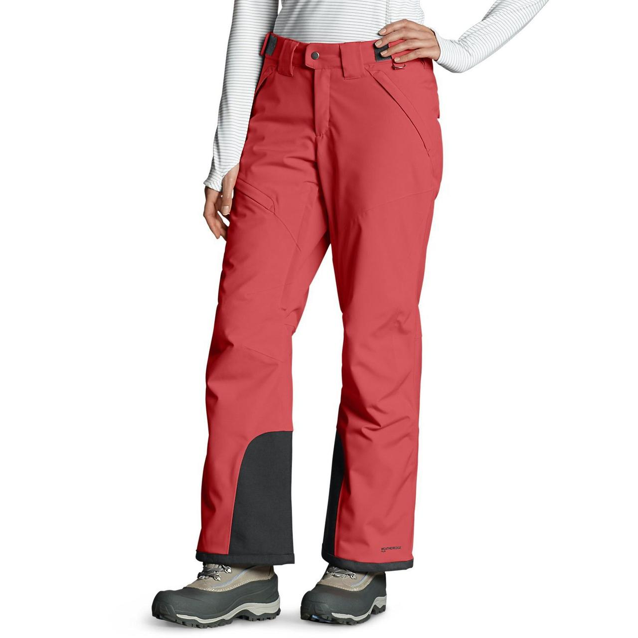 Спортивные штаны женские  Eddie Bauer Women Powder Search Insulated Pants BRIGHT CORAL