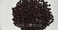 Шоколадные дропсы черные, 40% какао,( 1 кг), фото 1