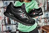 Кроссовки женские  Fila, черные (15642) размеры в наличии ► [  36 37 38 39 40 41  ], фото 6