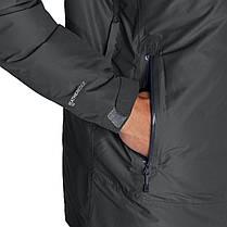 Мембранная куртка мужская Eddie Bauer Men BC Downlight StormDown DK SMOKE (L), фото 3