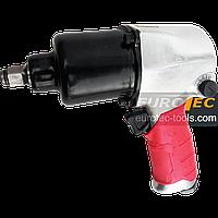 Пневмогайковёрт ударный + 10 насадок Erman IW 131, пневматический гайковерт воздушный
