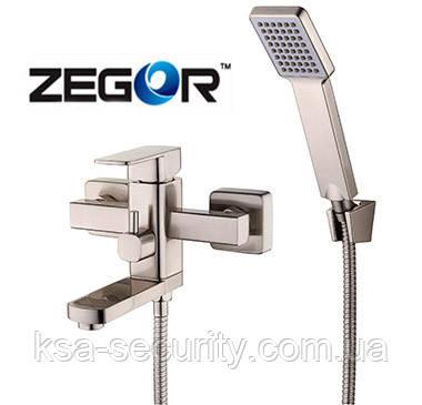 Смеситель для ванны ZEGOR LEB3-123H (Зегор)