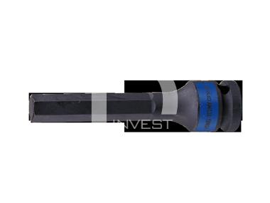 """Насадка (бита) ударная торцевая 1/2"""", HEX, 10 мм, L = 100 мм"""