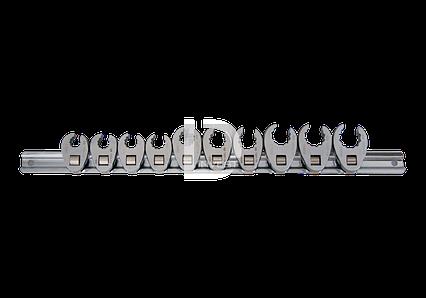"""Набор разрезных ключей 3/8"""" односторонних 10 шт. 10-19 мм"""