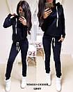 Женский спортивный костюм с худи с лампасами 74so641, фото 8