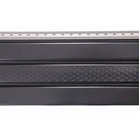 Карнизная подшивка ASCO Панель графит перфорированная ASKO 3,5х0,305 м
