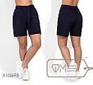 Льняные женские шорты в больших размерах на средней посадке 1ba1665, фото 2