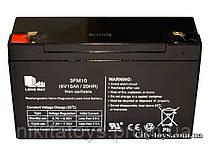 Аккумулятор профессиональный , герметичный свинцово-кислотный 6V-10Ah