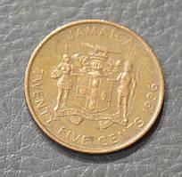 Ямайка 25 центов 1996 (БЖ)