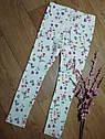 Стильные трикотажные скинни в цветочек (Размер 6-7Т) H&M (Англия), фото 2