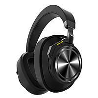 Беспроводные Bluetooth наушники Bluedio T6 с автономностью до 25 часов (Черный)