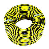 Шланг поливочный Presto-PS садовый Зебра диаметр 3/4 дюйма, длина 20 м (ZB 3/4 20), фото 3