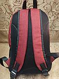 (44*30-большое)Рюкзак спортивный reebok Мессенджер спорт городской стильный Школьный рюкзак только опт, фото 4