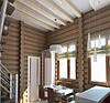 Фарбування стін дерев'яного будинку