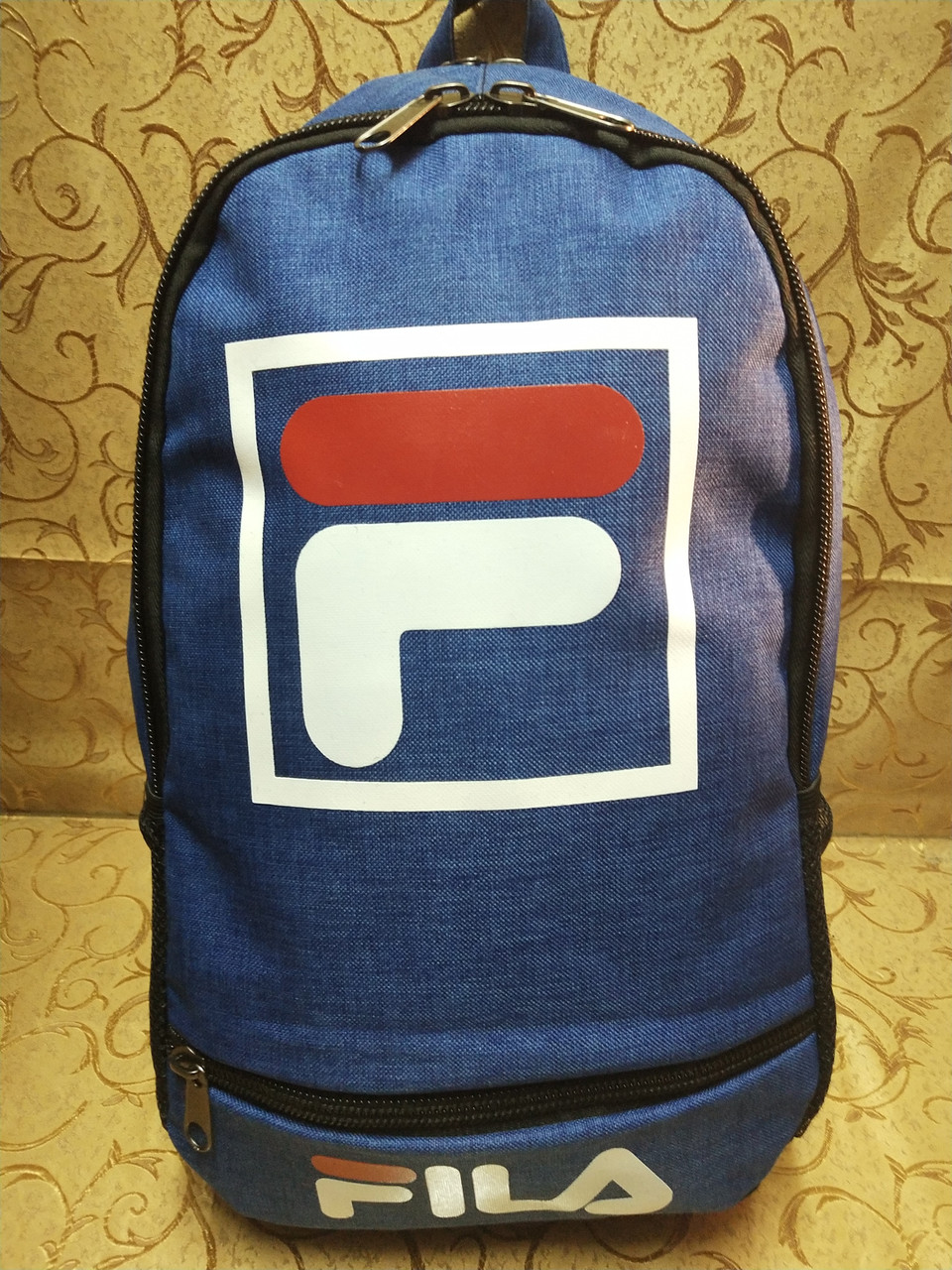 (44*30-большое)Рюкзак спортивный fila Мессенджер спорт городской стильный Школьный рюкзак только опт